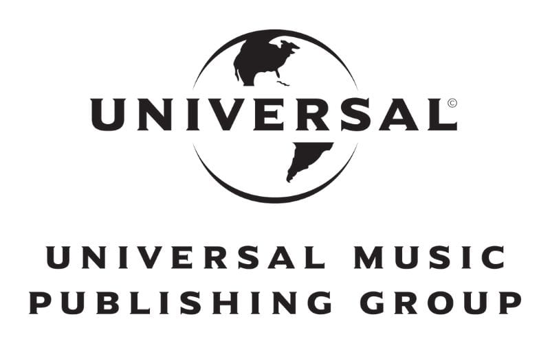 Universal music publishing group logo comes out top in Music Gateway's list of music publishing companies