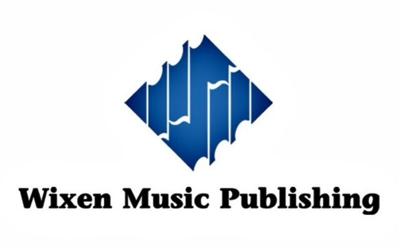 Wixen music publishing logo  in Music Gateway's list of music publishing companies