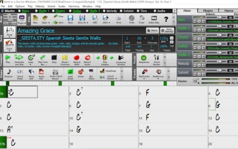 Band-in-a-Box music chords Music Gateway