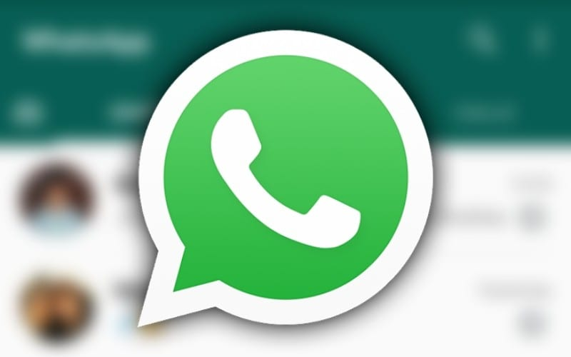 Whatsapp logo and conversations