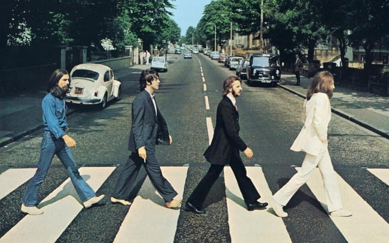 The Beatles Abbey Road album artwork