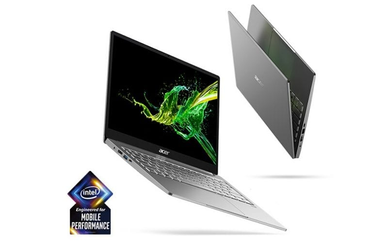 Acer Swift 3 with intel core laptop with recording software