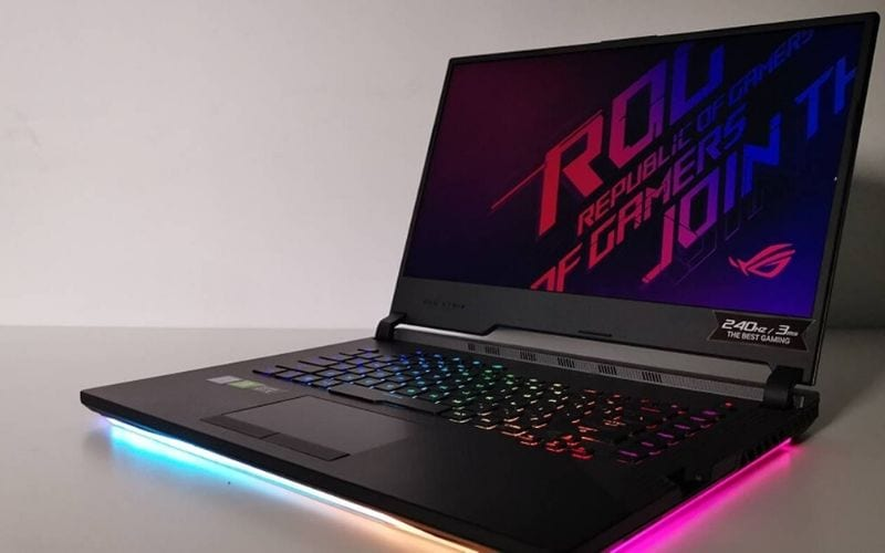 Asus Rog Strix Scar III is one of the best laptops for music production