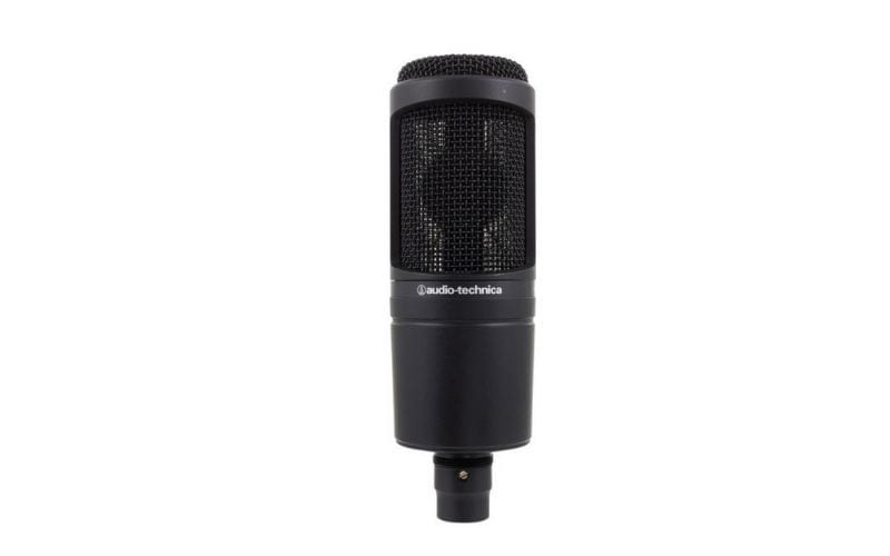 Audo Technica AT2020 microphone