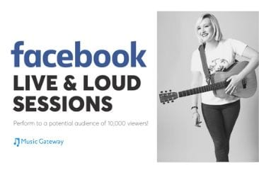 Join Our Facebook Live & Loud Sessions To Amplify Your Live Streams