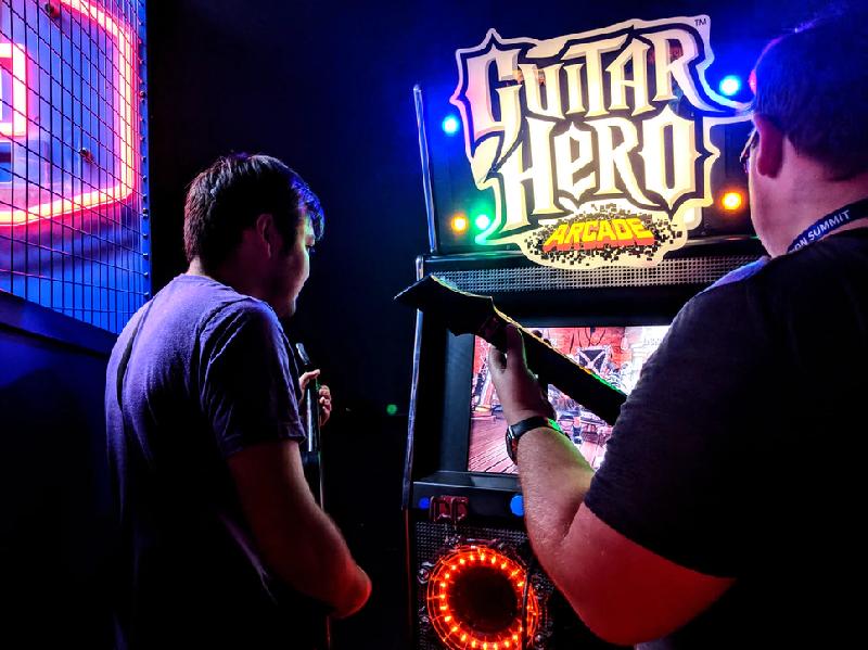 Guitar Hero Console Arcade