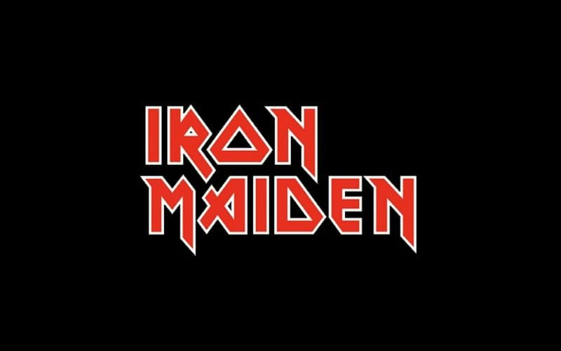 Iron Maiden logo example of music branding