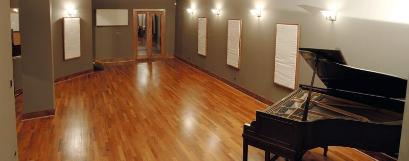 Uptown Recording Studios Chicago Live Room