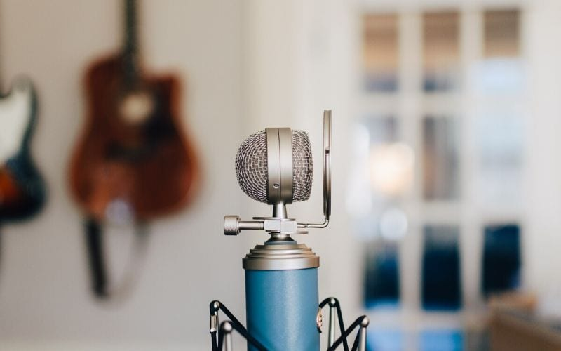 Condenser mic for vocal recording