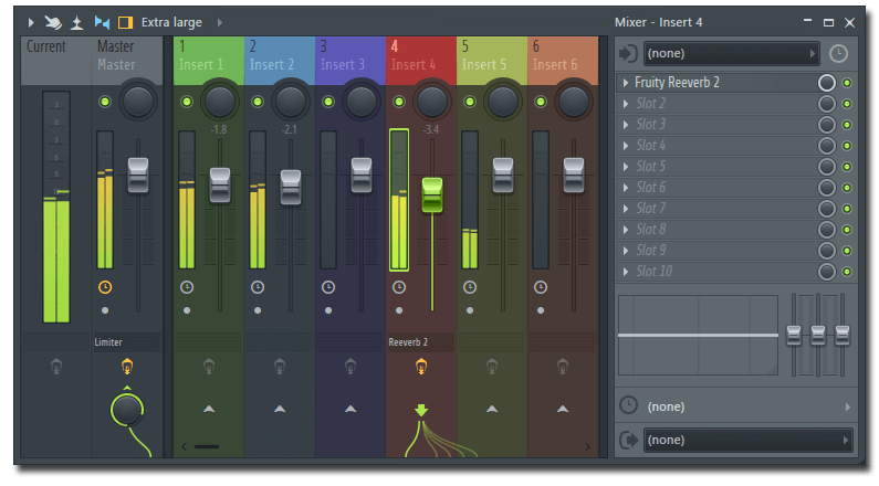 Mixer Left FL STUDIO