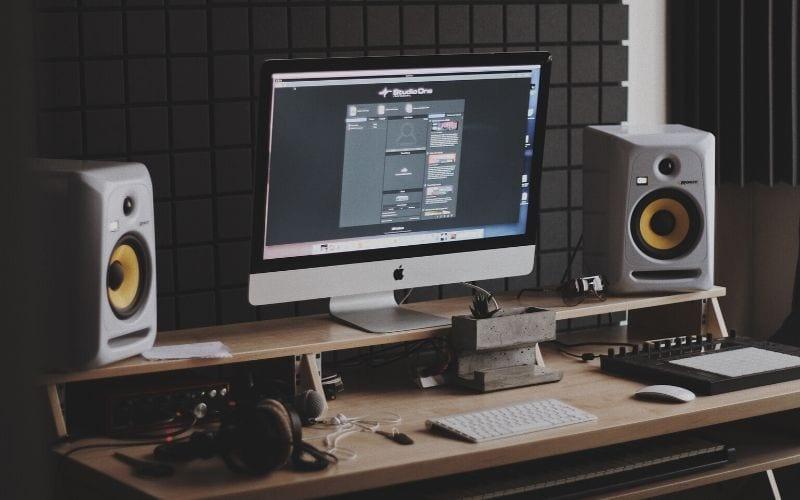 soundproofing panels in recording studio