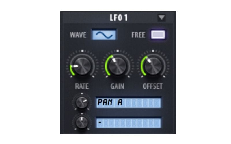 LFO1 on Sylenth1