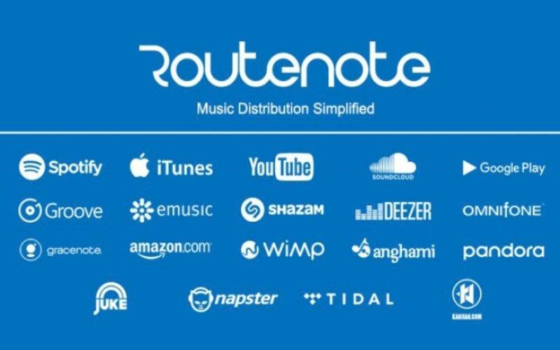Routenote DSP