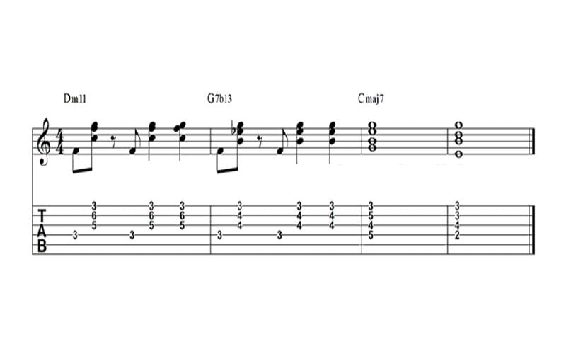 chord progression jazz
