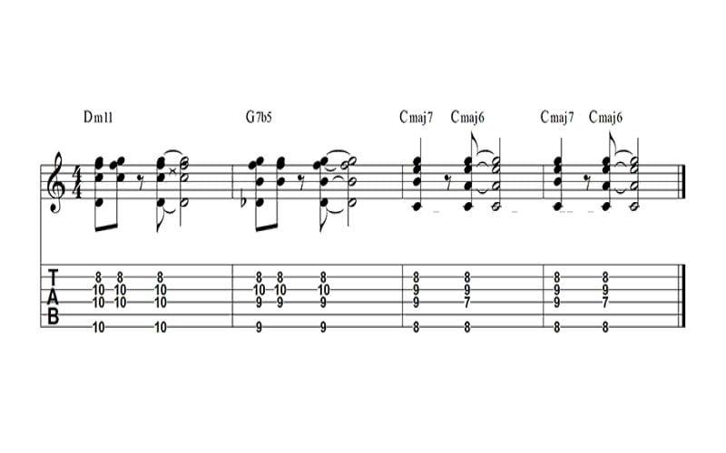 jazz chord progression