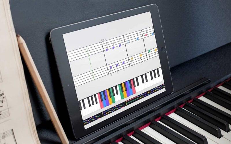 Yousician piano notation