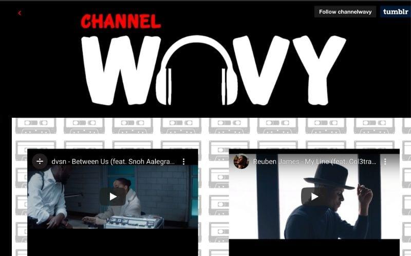 channel wavy music blog