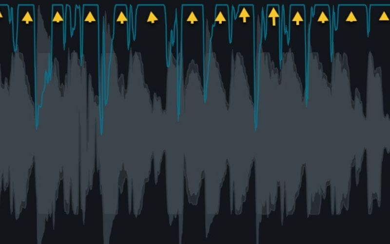 clipped audio signal