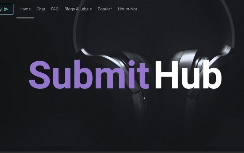 submit hub music blog