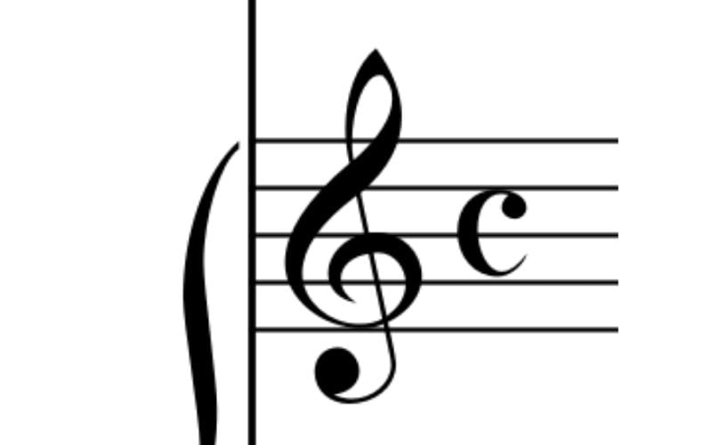 Common time time signature