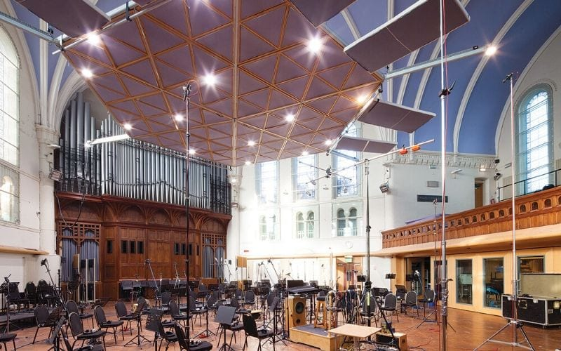 AIR studios Air Lyndhurst recording London
