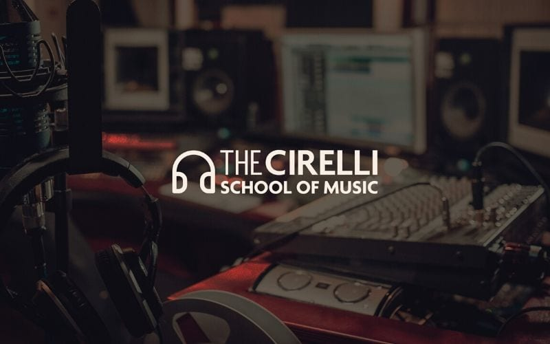 The Cirelli School Of Music logo