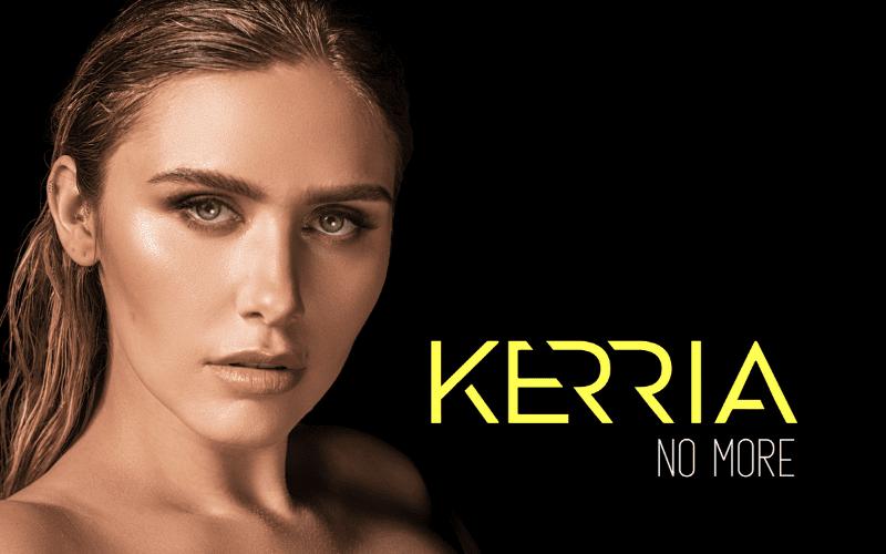 KERRIA 'No More' Artwork