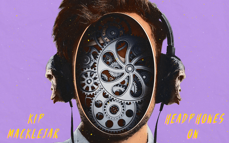 Kip Macklejar 'Headphones On' Artwork