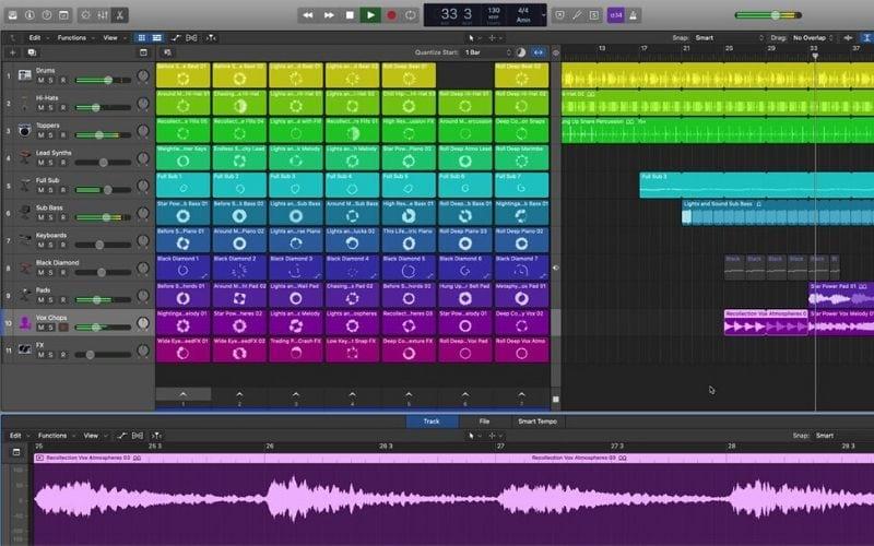 Logic Pro X version 10.5