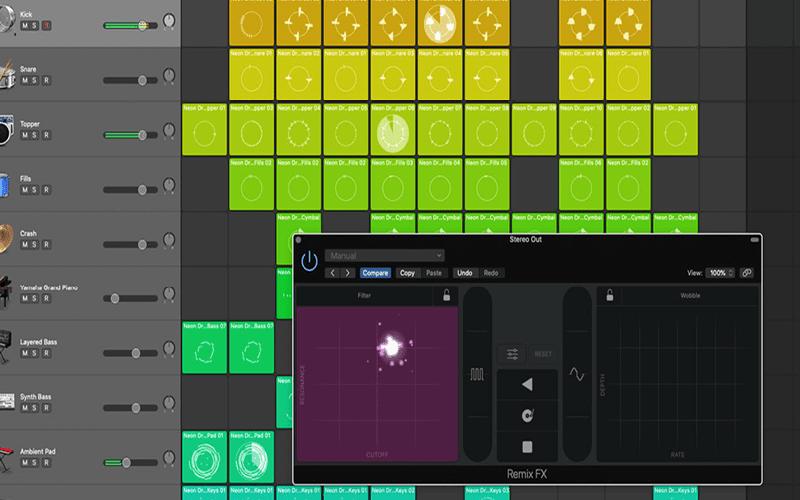 Logic Pro X new interface