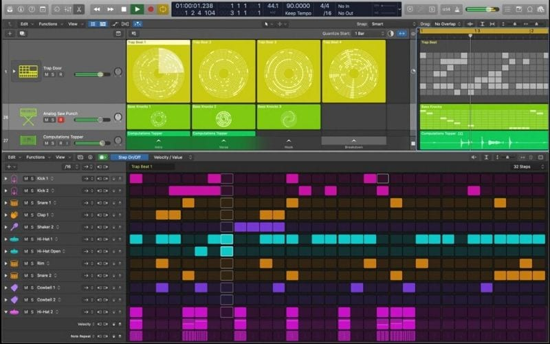 Step Sequencer new Logic Pro X update