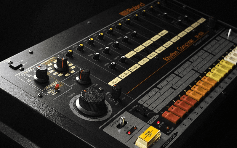 TR-808 article header image What is an 808 drum machine and how is it used