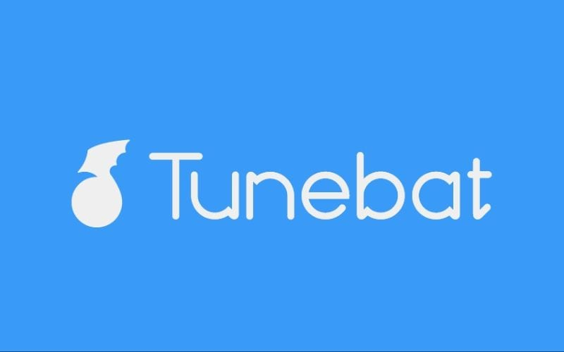 Tunebat bpm key finder logo blue