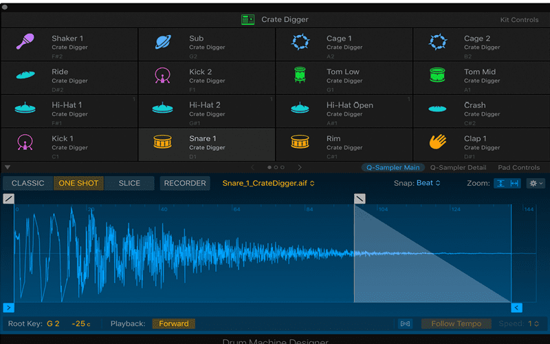 Drum Synth sounds update for Logic Pro x
