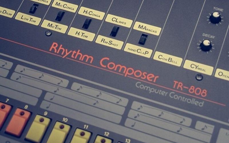 TR-808 drum machine