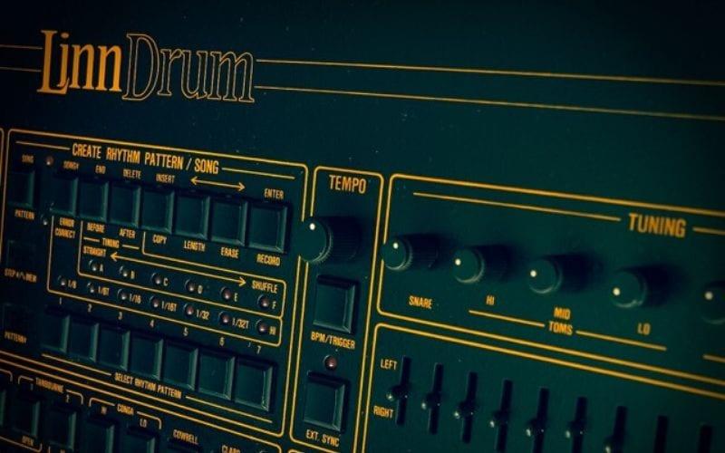 LinnDrum drum machine