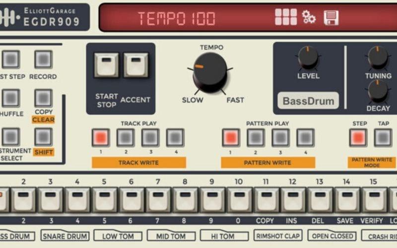 EGDR909 app