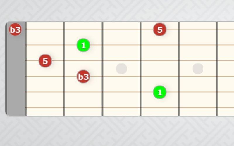 Cm shape guitar
