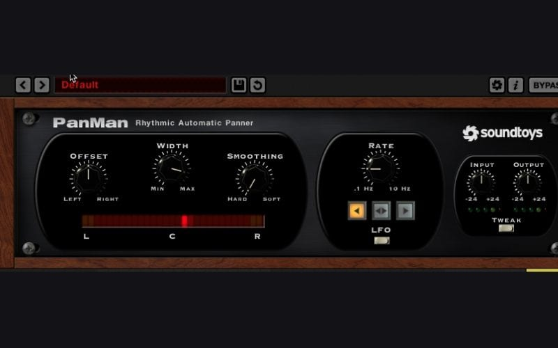 auto pan music