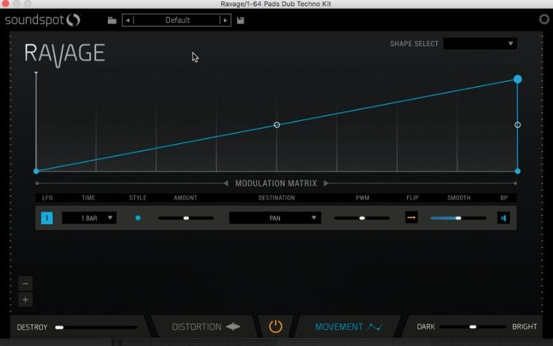 soundspot's ravage distortion plugin