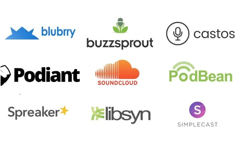 media hosts for podcasts
