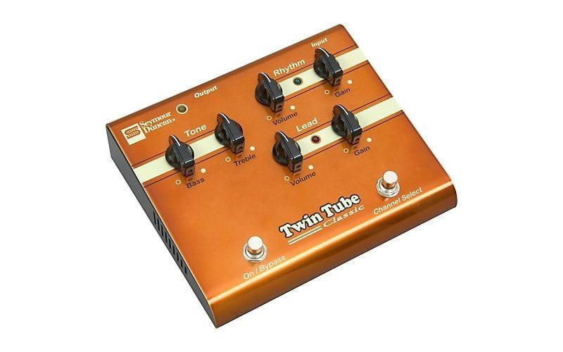 Seymour Duncan twin tube classic guitar distortion pedal