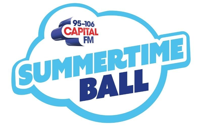 Capital radio Summertime ball logo