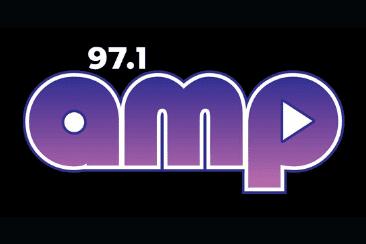 97.1 Amp Radio logo