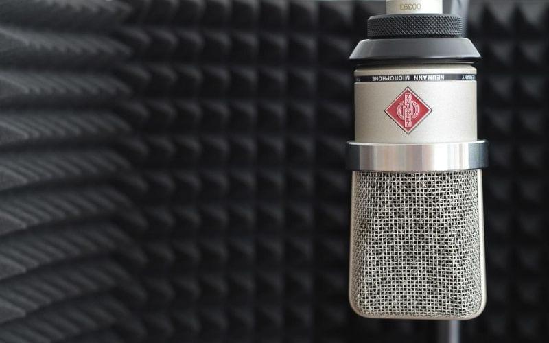 microphone recording studio