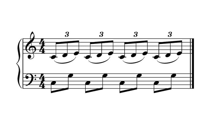 doublets and triplets polyrhythms