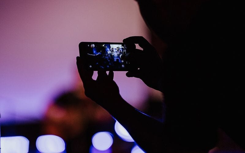 iphone shooting