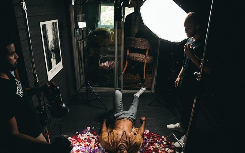 lighting music video filming