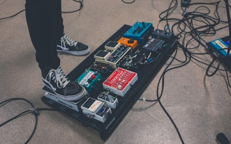 audio signal pedal