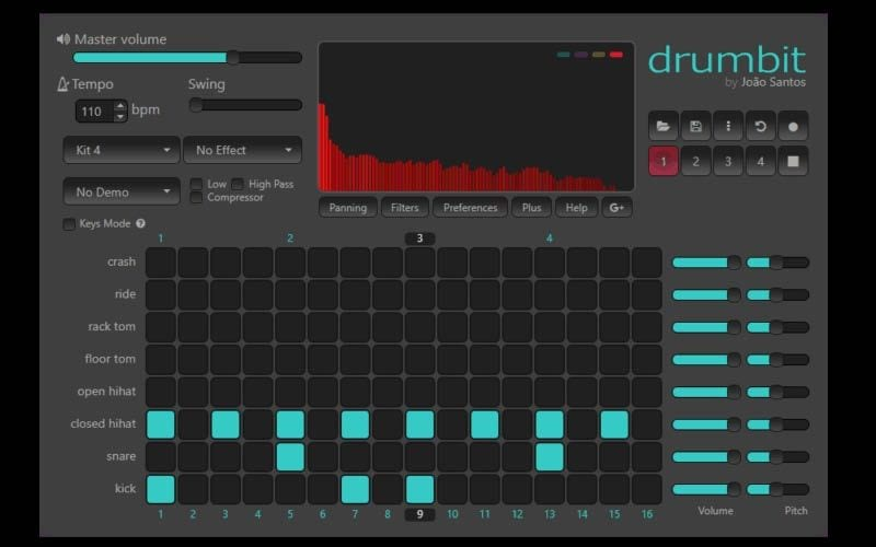 Drumbit music